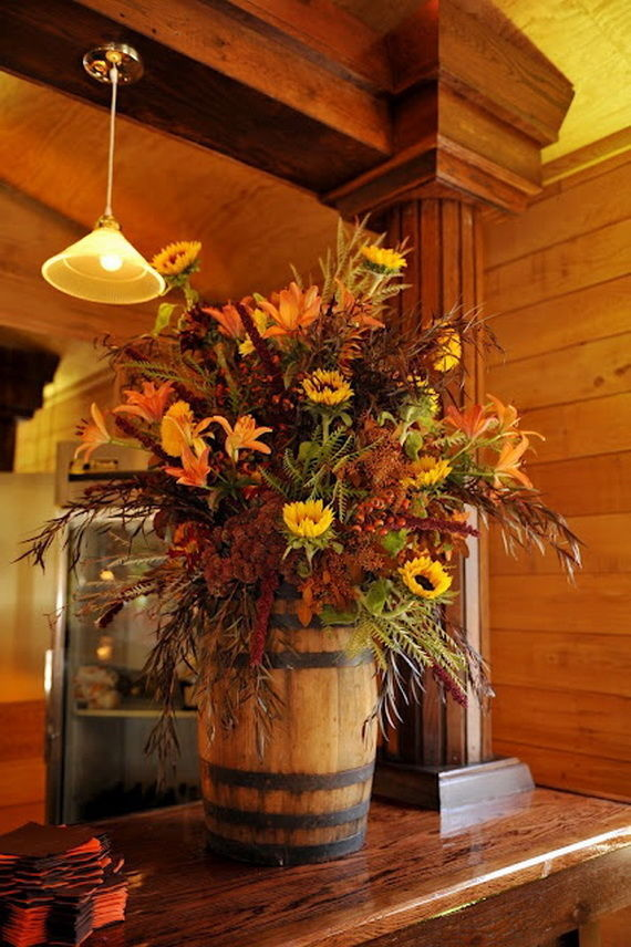 fall mantle arrangement photography - photo #11
