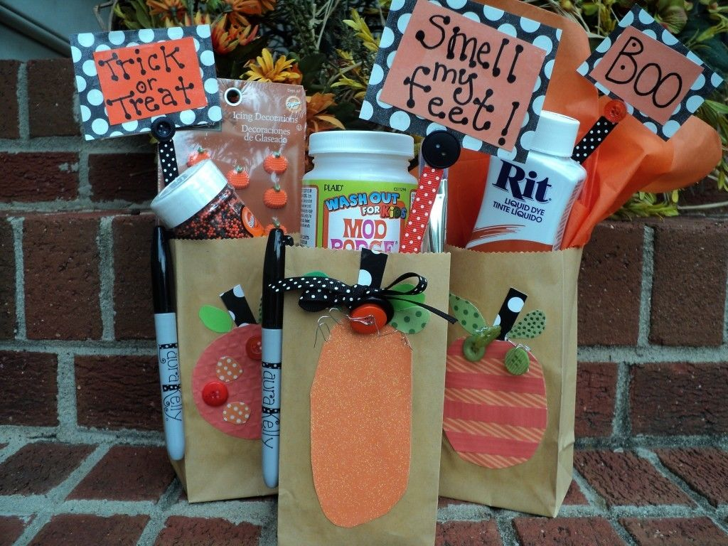 spooky halloween treat bags - Pinterest Halloween Treat Bags