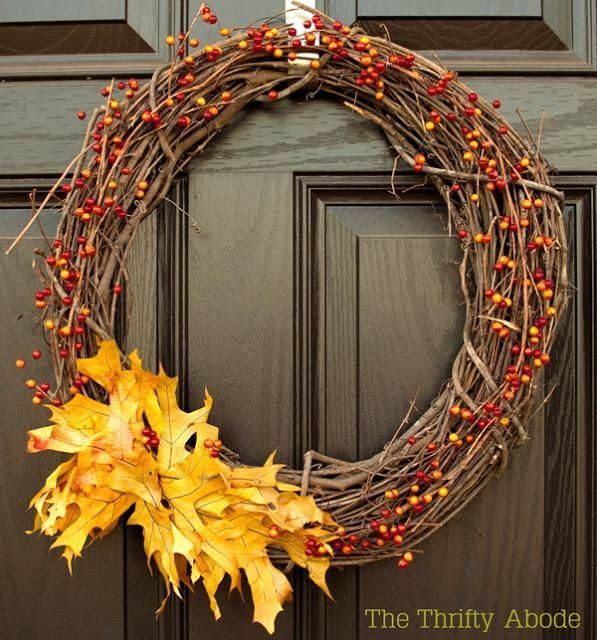 Diy home decor wreath pictures photos and images for facebook tumblr pinterest and twitter Diy home decor crafts pinterest