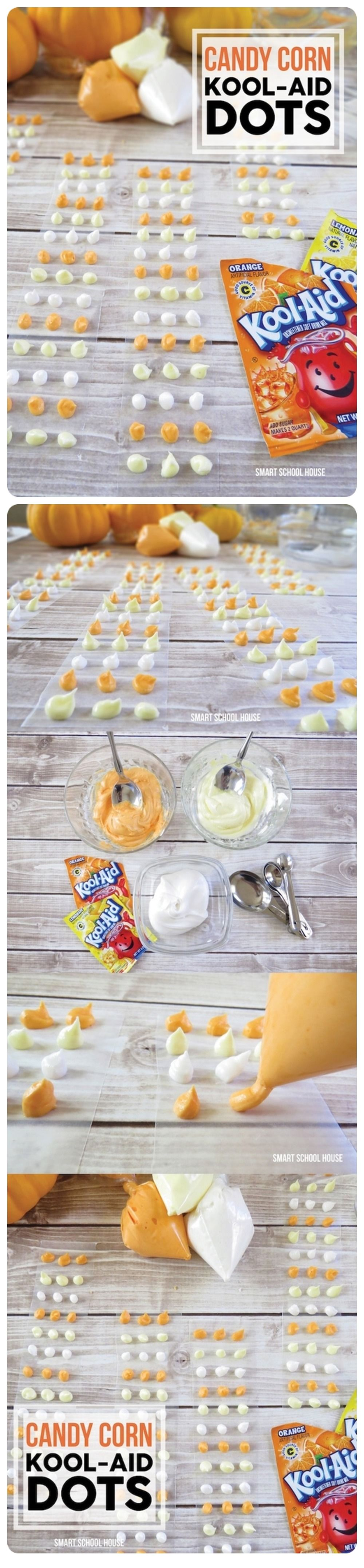 DIY Candy Corn Kool Aid Dots Pictures, Photos, and Images ...