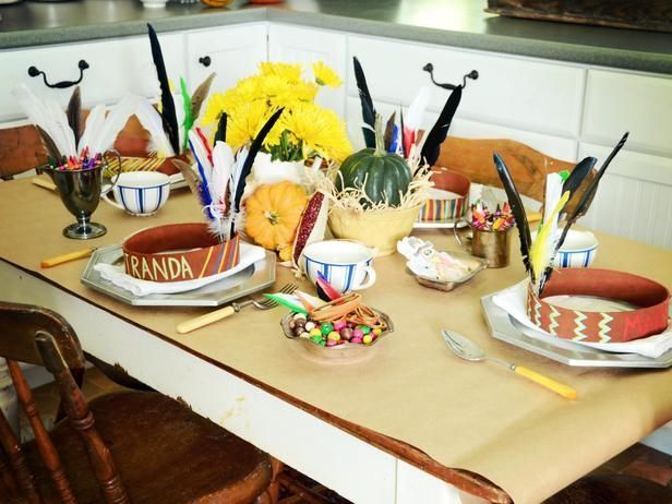 Thanksgiving Table Decor For Kids Pictures Photos And Images For