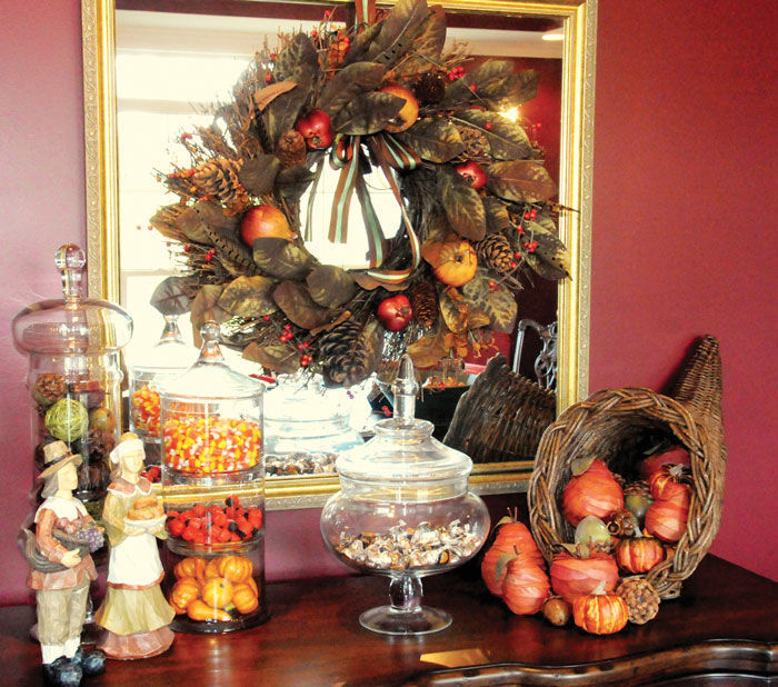 Thanksgiving Mantel Decoration Pictures Photos and Images for – Thanksgiving Mantel Decorations