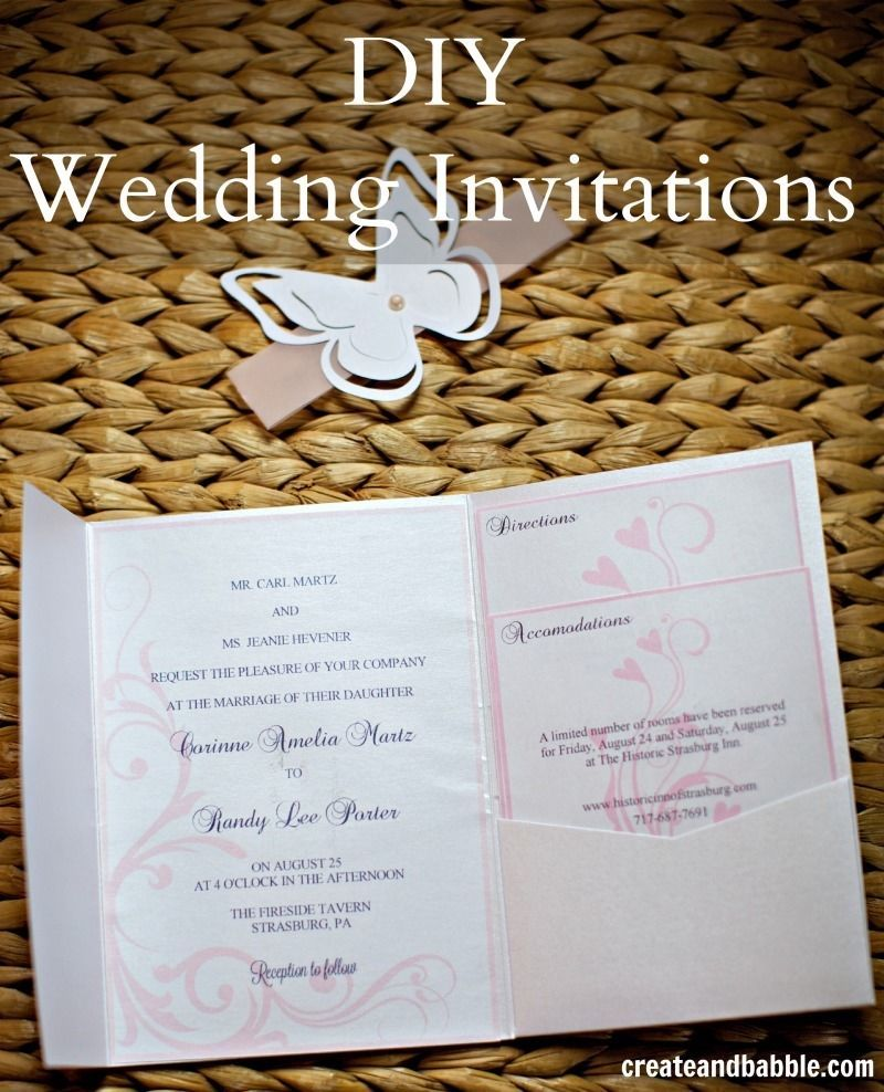 Diy Wedding Invitations Pinterest: DIY Wedding Invitations Pictures, Photos, And Images For