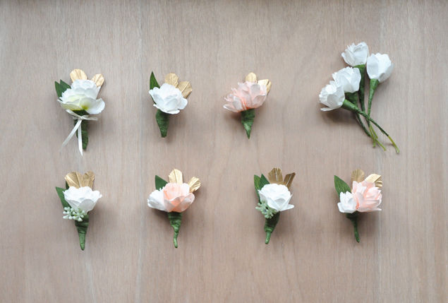 paper flower corsages and boutonnieres pictures, photos, and, Beautiful flower