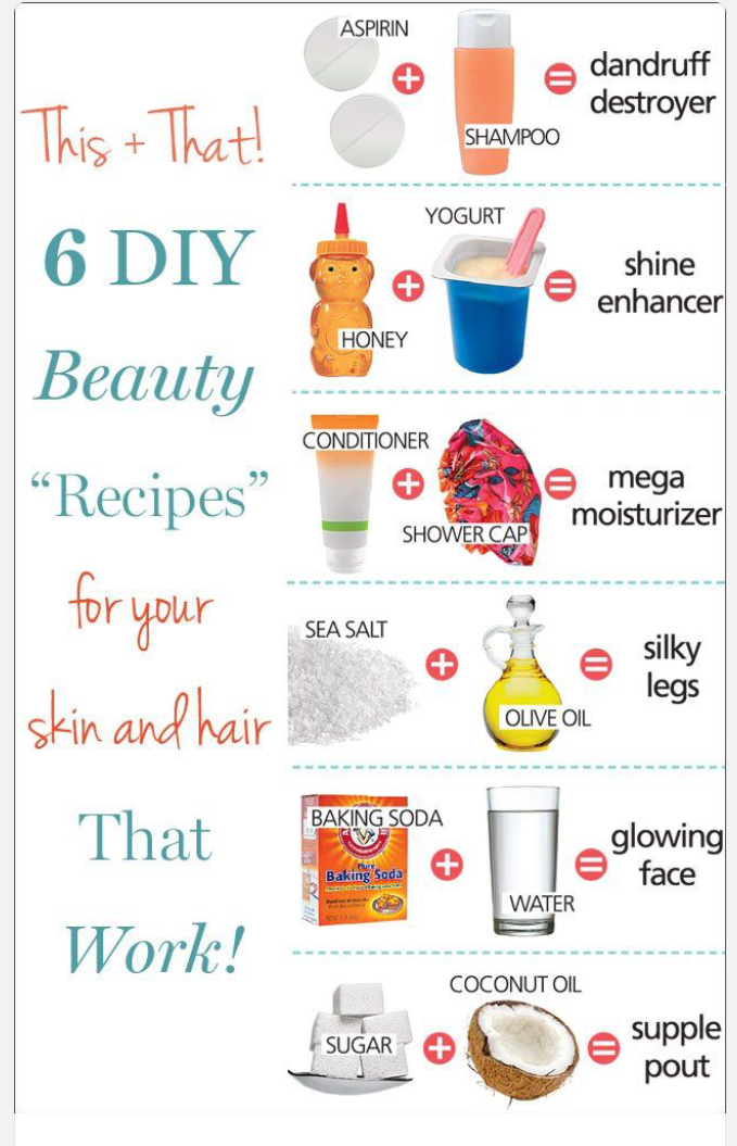 6 DIY Beauty Recipes