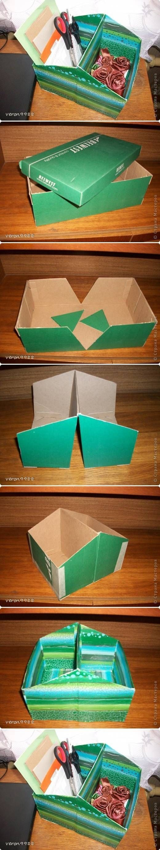 Diy shoe box organizer pictures photos and images for for Diy shoe storage with cardboard
