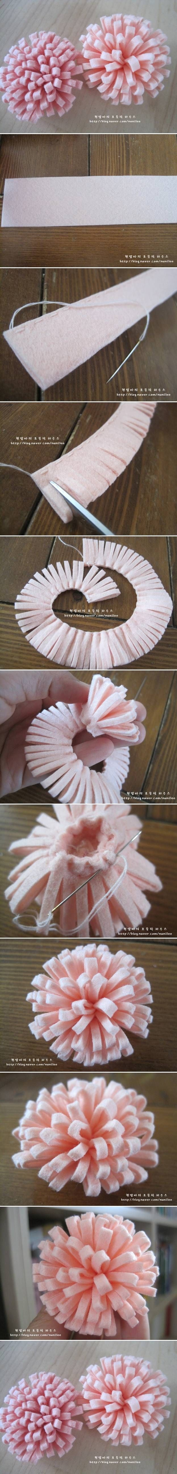 How To Make A Felt Rose Pictures, Photos, and Images for ...