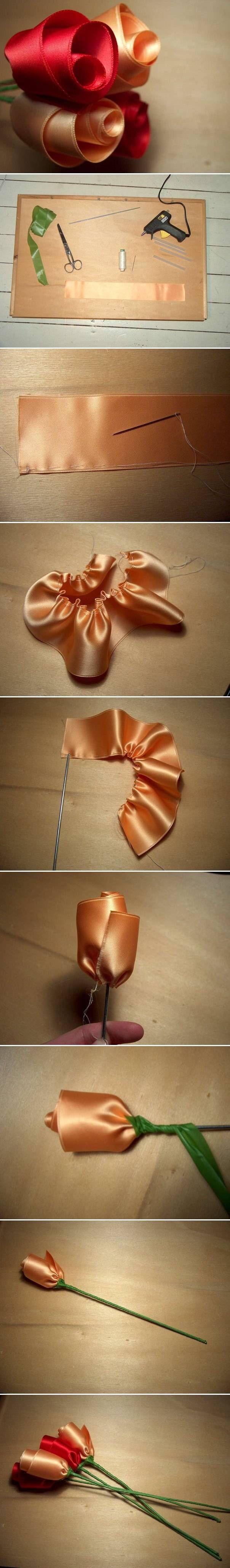 Tutorial To Make Rose Decorations Pictures, Photos, and ...