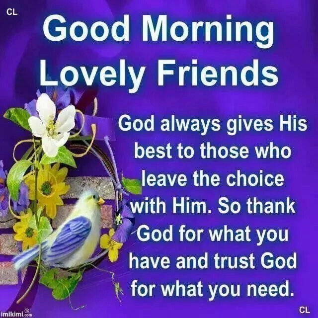 Good Morning Quotes To Friend : Good morning friends pictures photos and images for