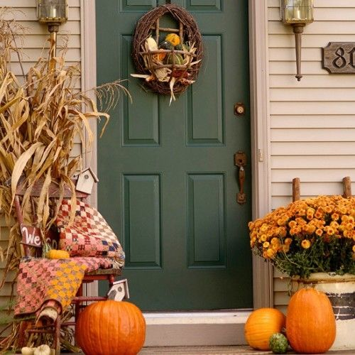 Cozy Autumn Front Porch Pictures, Photos, And Images For