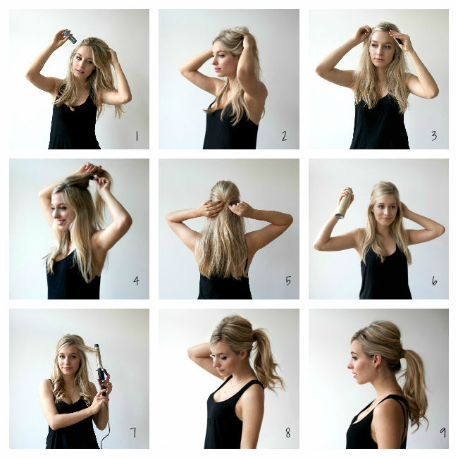 DIY SIXTIES PONYTAIL TUTORIAL Pictures Photos And Images For - Hairstyle diy tumblr