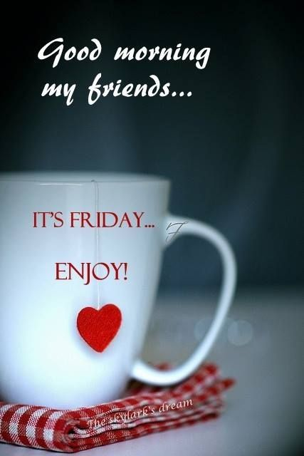 Good Morning Coffee Friday : Good morning friday pictures photos and images for