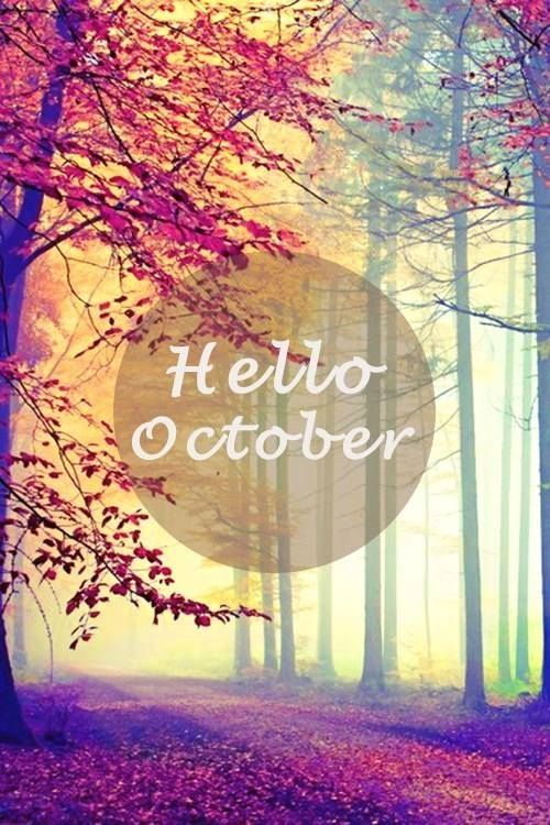 Hello October Pictures...
