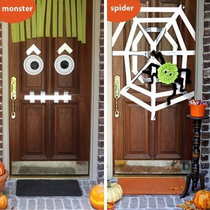 Halloween Front Door Decorations Pictures Photos And Images For