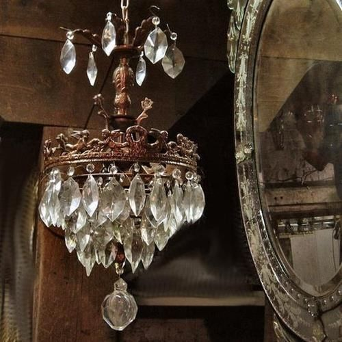 Antique Crystal Chandelier Pictures, Photos, and Images for ...