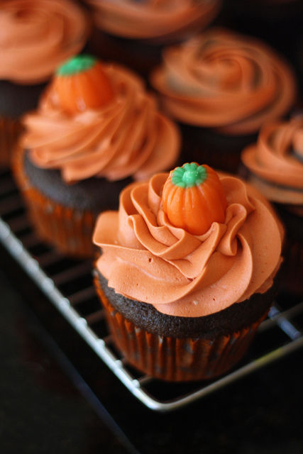 Halloween Pumpkin Cupcakes Pictures Photos And Images