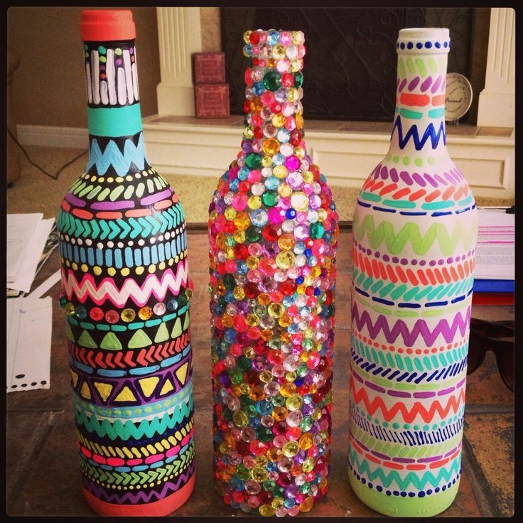 Decorate A Bottle: DIY Decorated Wine Bottles Pictures, Photos, And Images