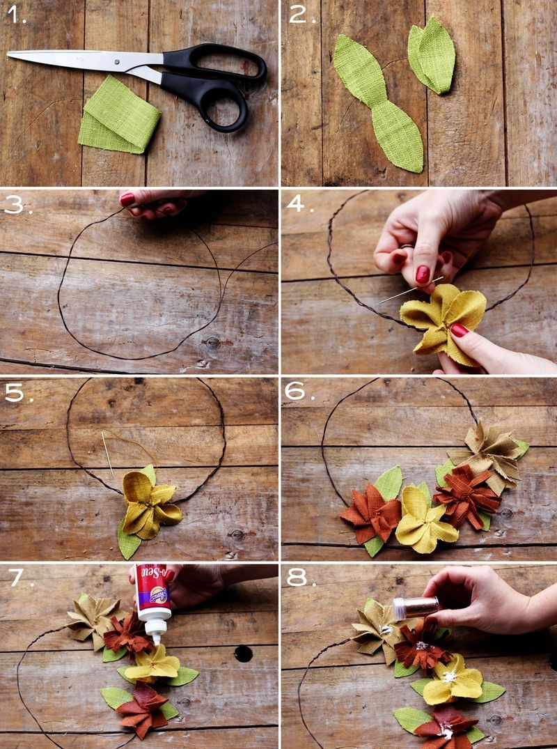 Diy Autumn Flower Crown Pictures Photos And Images For Facebook