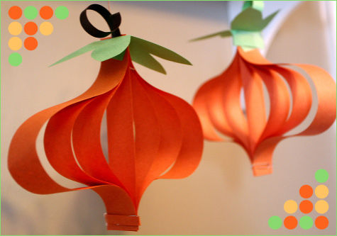 Paper Pumpkin Craft Pictures, Photos, and Images for ...