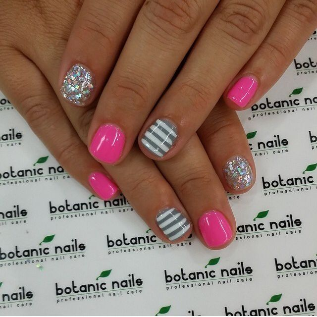 Pink And Grey Nails Pictures Photos And Images For Facebook