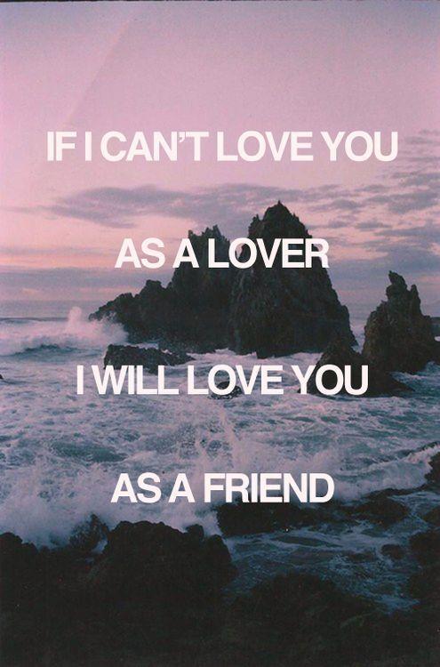 friendship say i love you