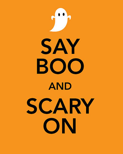 Say Boo And Scary On Pictures, Photos, and Images for ...