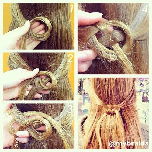 DIY Infinity Knot Hair Pictures, Photos, And Images For