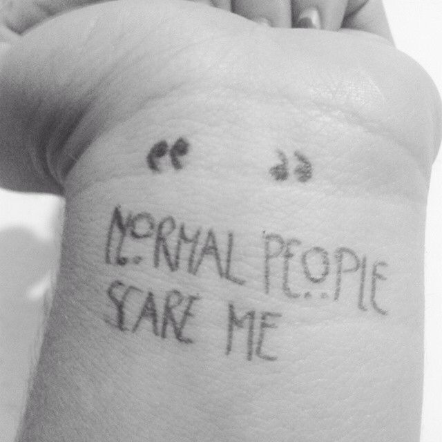 Normal People Scare Me Pictures, Photos, And Images For
