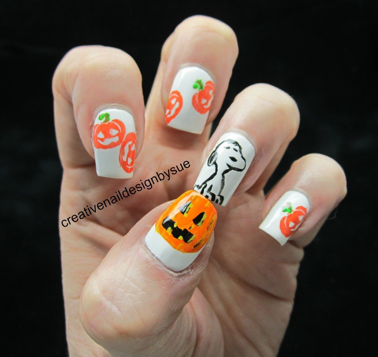Snoopy Halloween Nail Art Pictures Photos And Images For Facebook