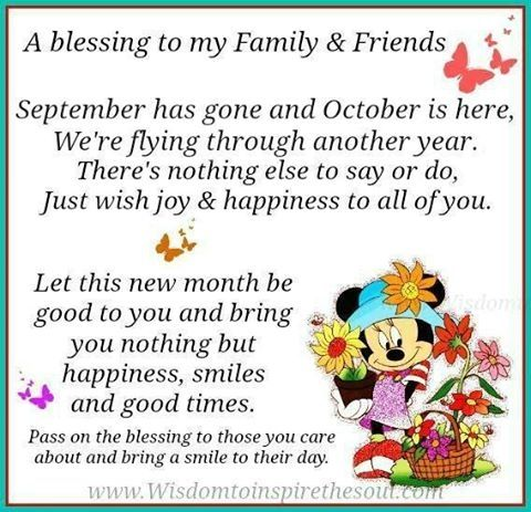 Image result for october blessings