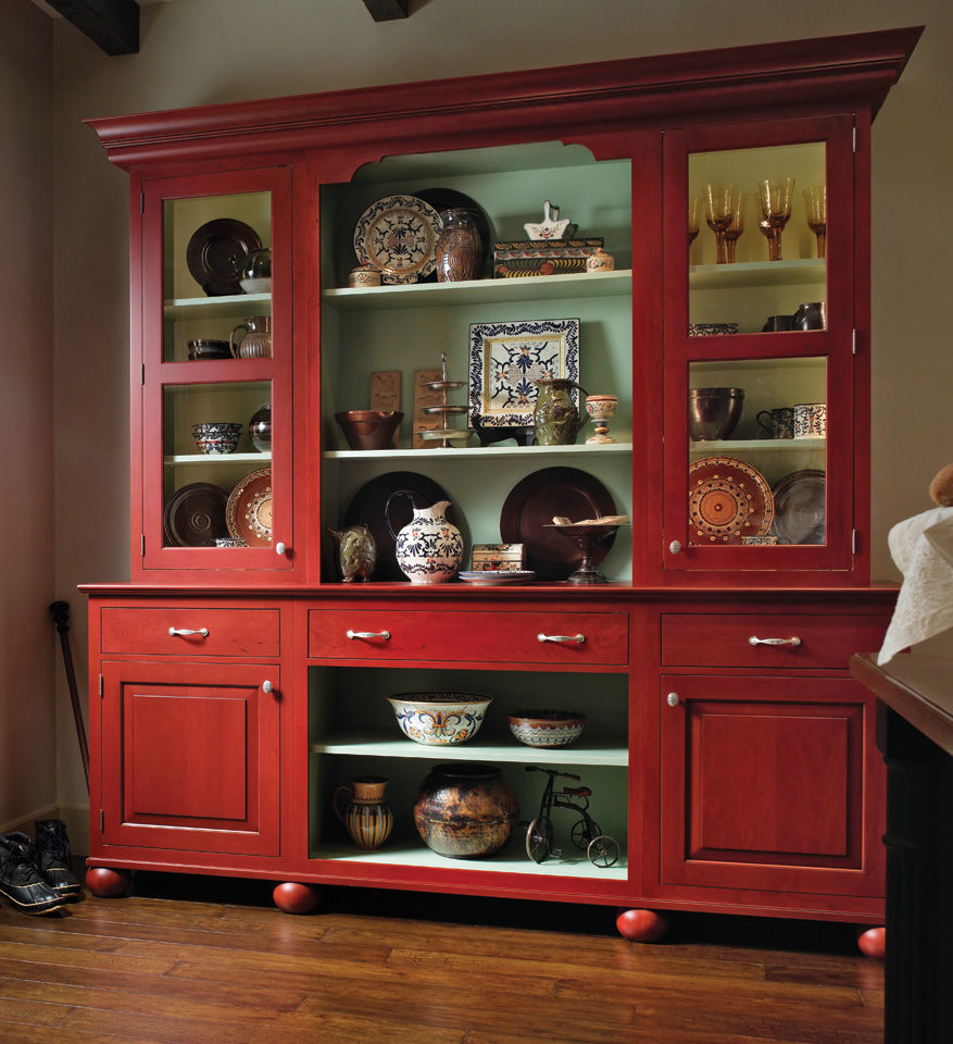 Country Do It Yourself Wedding: European Red Country Hutch Pictures, Photos, And Images