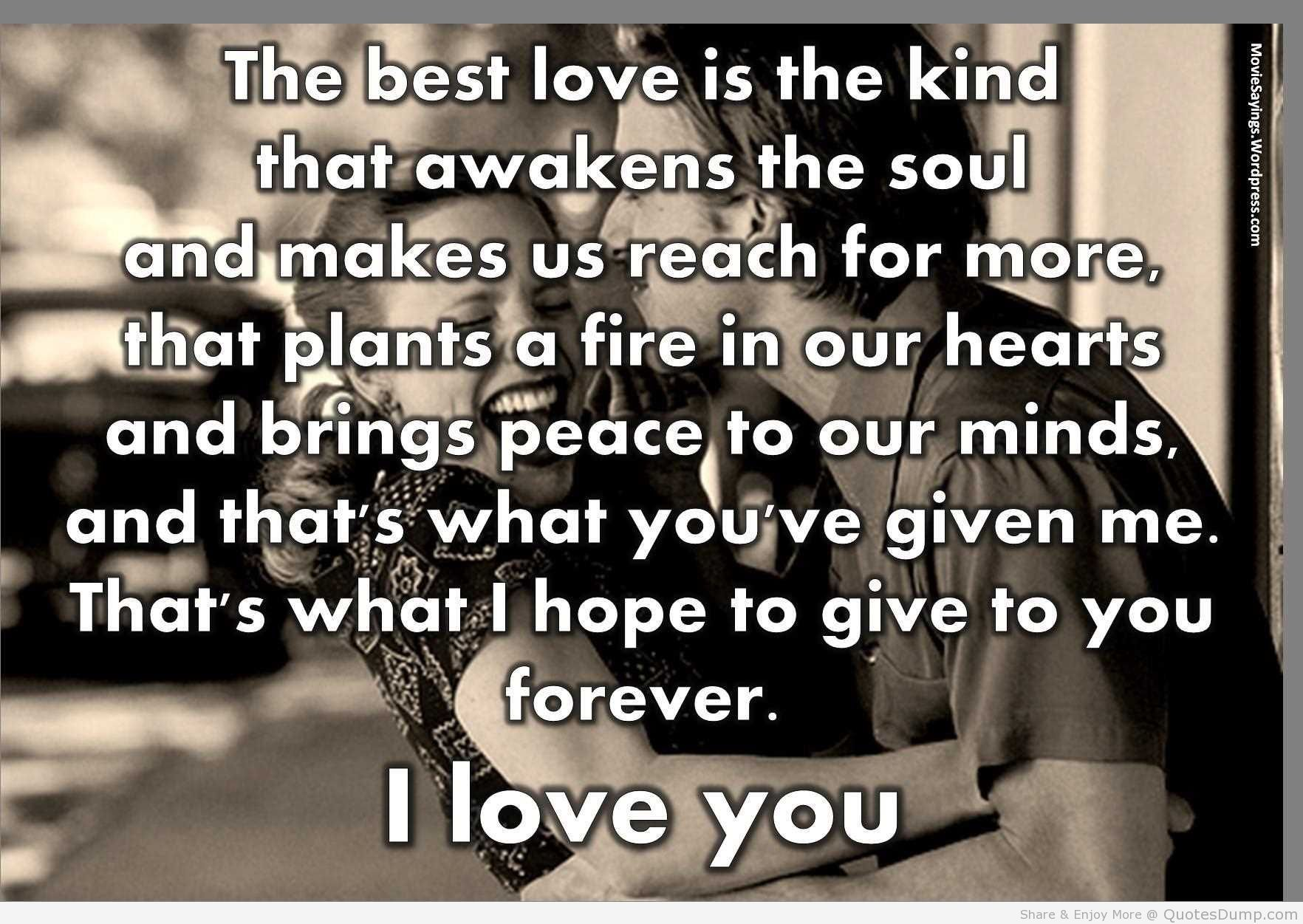 The Best Love Quotes : Notebook Quotes The Best Kind Of Love love quotes and wallpaper