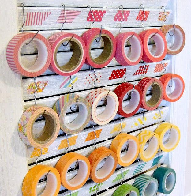 131061 washi tape shutter storage
