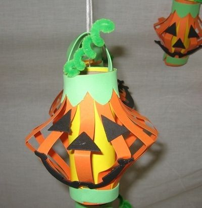 Jack O Lantern Art And Craft