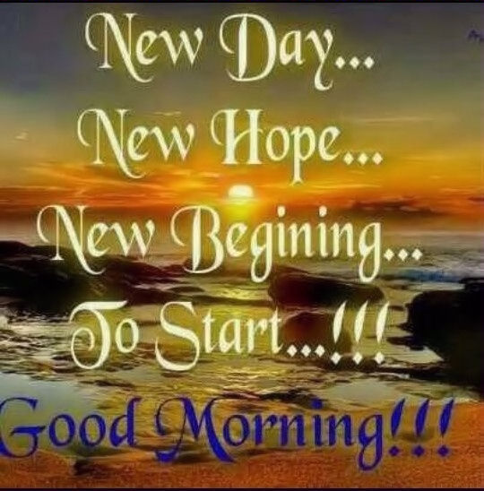 New Day New Hope Good Morning Pictures, Photos, And Images