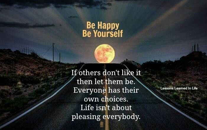 Be Happy Be Yourself Pictures, Photos, And Images For