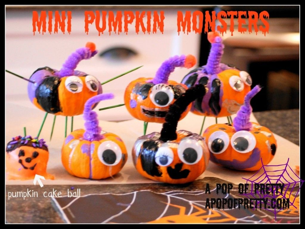 Mini Pumpkin Monsters Pictures Photos And Images For