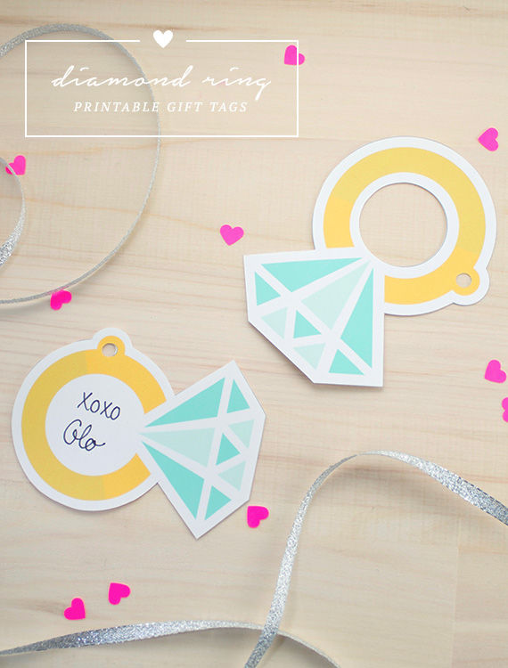 Do It Yourself Wedding Gift Tags : Diamond Ring Printable Gift Tags Pictures, Photos, and Images for ...