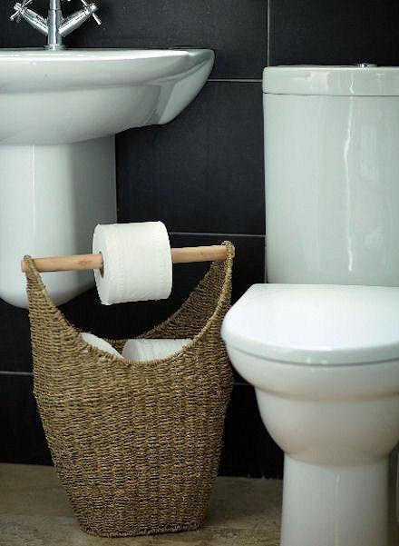 Toilet Roll Storage Ideas
