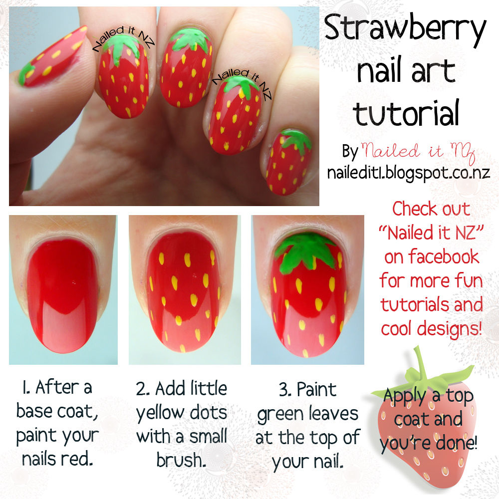 Strawberry Nail Art - Strawberry Nail Art Pictures, Photos, And Images For Facebook