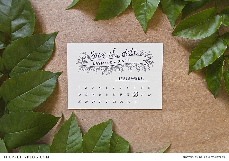 save the date printable