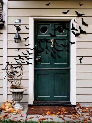 Bat filled front door & Bat Filled Front Door Pictures Photos and Images for Facebook ...