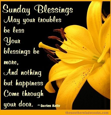 Sunday Morning Blessed Quotes. QuotesGram