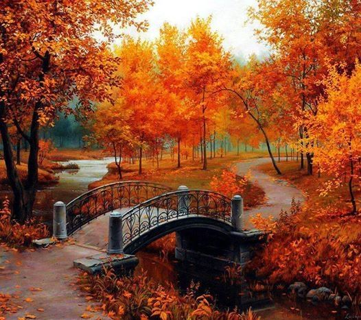 Beautiful Autumn Painting Pictures, Photos, and Images for Facebook,  Tumblr, Pinterest, and Twitter