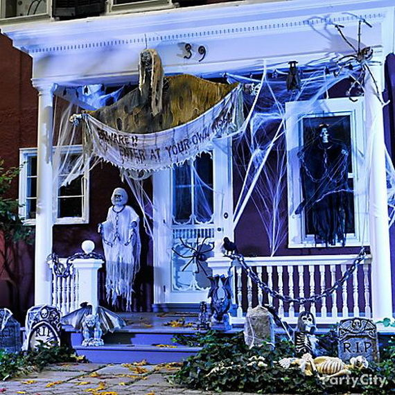 Scary Outside Halloween Decorating Ideas: Scary Halloween Porch Pictures, Photos, And Images For