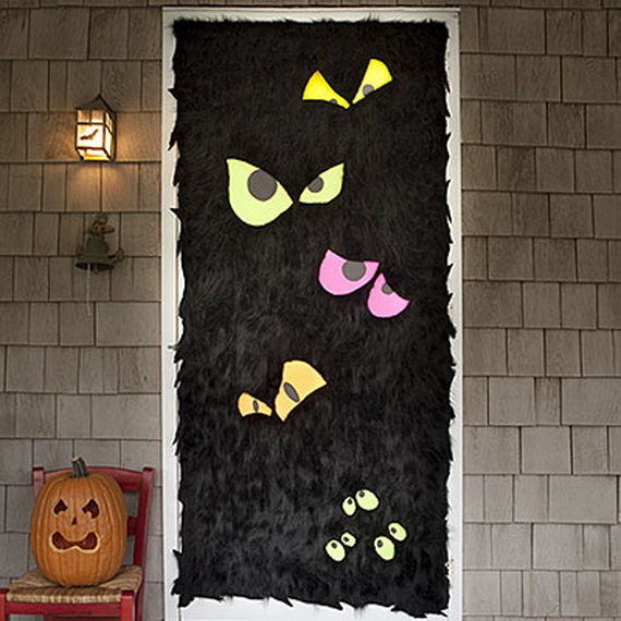 Scary Eyes Front Door Pictures, Photos, And Images For