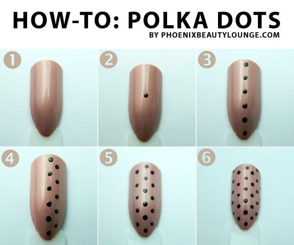 Diy Polka Dot Nail Tutorial