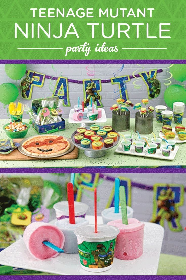 Teenage Mutant Ninja Turtles Party Theme Pictures, Photos ... - photo#49