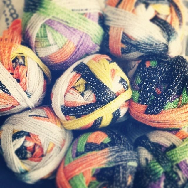 Halloween Ruffle Yarn Pictures, Photos, and Images for Facebook