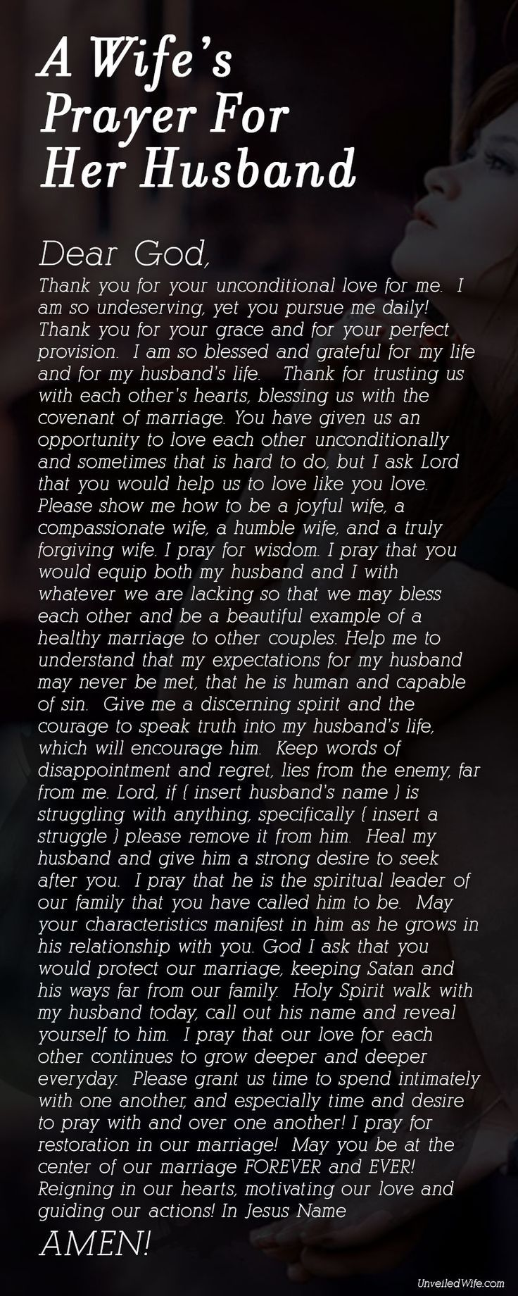 A Wifes Prayer For Her Husband Pictures, Photos, and
